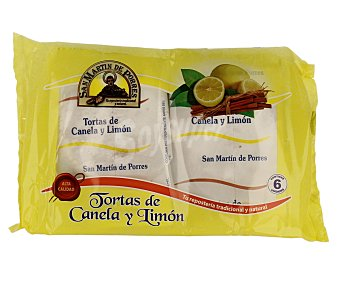 SAN MARTIN DE PORRES Torta de canela y limón 210 gramos