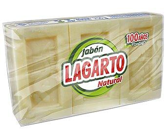 Lagarto Jabón natural 3 unidades de 250 g