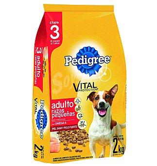 Pedigree Com. perros razas peq.aves 2 KGS