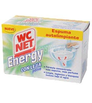 WC Net Energy polvo lejia Pack de 4x63 g