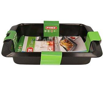 PYREX Fuente rectangular de metal para horno, 26x19 centímetros 1 unidad