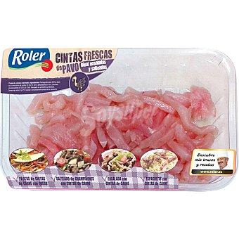 ROLER cintas frescas de pavo bandeja 350 g
