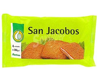Productos Económicos Alcampo San Jacobos Pack de 4 uds