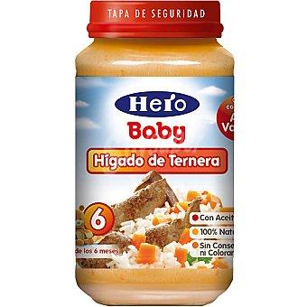 Hero Baby Tarrito hígado de ternera Envase 250 g