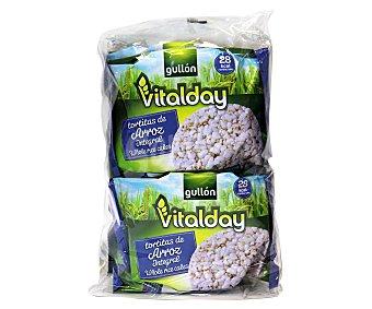 Gullón Tortitas de arroz integral Vitalday 115,2 g