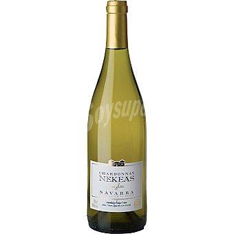 Nekeas Cuvvé Allier vino blanco chardonnay D.O. Navarra Botella 75 cl