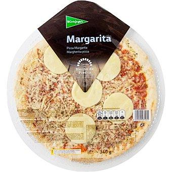 El Corte Inglés pizza margarita envase 340 g