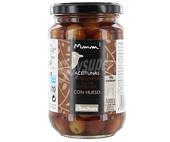 Mmm Auchan Aceitunas arbequina con hueso 200 g