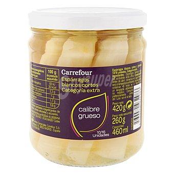 Carrefour Espárragos blancos cortos 255 g