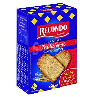 Recondo Pan tostado tradicional Paquete de 270 g