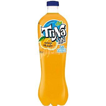 Trina Refresco naranja sin azúcares añadidos Botella 2L