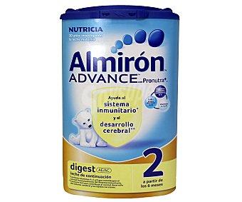 Almirón Leche 2 continuación Advance Digest 800 g