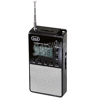 TREVI DR 735 Radio digital de bolsillo en color negro
