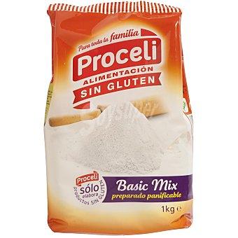 Proceli Preparado panificable sin gluten Basic mix 1 kg.