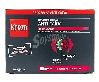 Kerzo Ampollas tratamiento intensivo anti-caída Caja 14 unidades