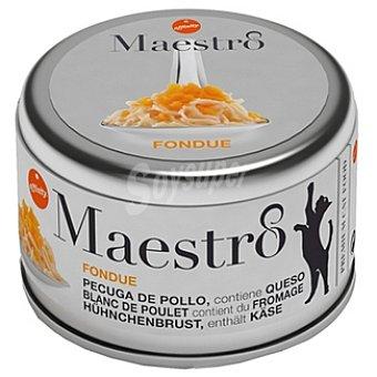 Affinity Fondue pechuga de pollo con queso para gato Maestro Lata 80 g