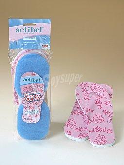 Actibel Esponja corporal doble acción Pack 1 unid