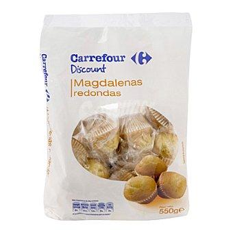 Carrefour Discount Magdalenas redondas 550 g