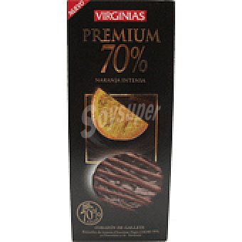 Virginias Galletas choco 70% nara 120 GRS