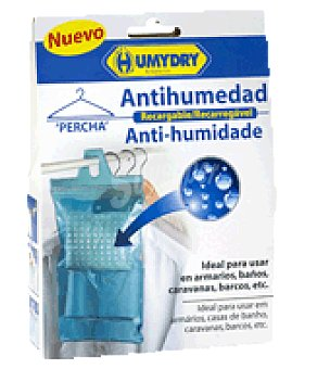 Humydry Bolsa colgable antihumedad Envase de 450 gr