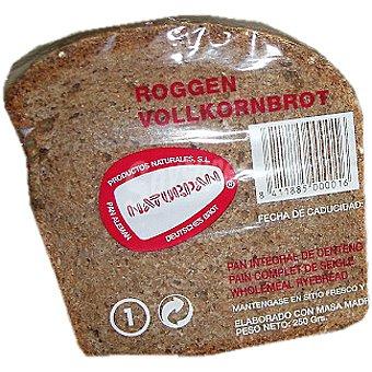 Naturpan Pan integral de centeno natural  envase 250 g