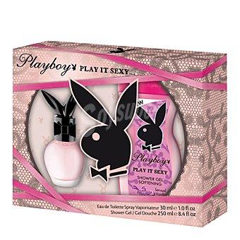 Playboy Fragrances Estuche colonia Play It Sexy spray 30 ml. + gel 250 ml. 1 ud