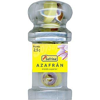 SAFRINA Azafrán molido en cápsulas individuales 20 dosis Frasco 2,5 g