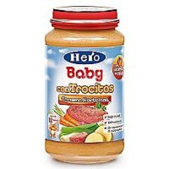HERO Baby Tarrito de ternera hortel. desde 12º mes tarro 250 g