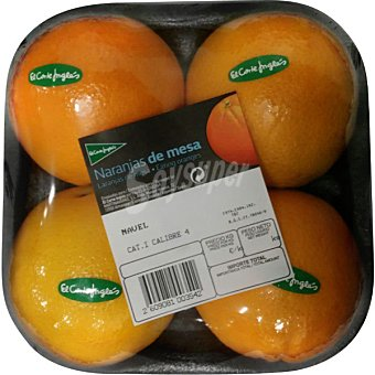 El Corte Inglés Naranjas de mesa peso aproximado Bandeja 1,4 kg
