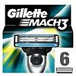Cargador para afeitar 6 ud 6 ud Gillette Mach3