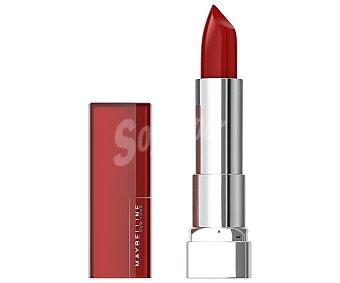 Maybelline New York Barra de labios de color vibrante, tono 322 Wine rush Color sensational Color sensational