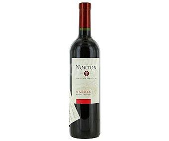 Norton Vino tinto argentino malbec Botella de 75 Centilitros