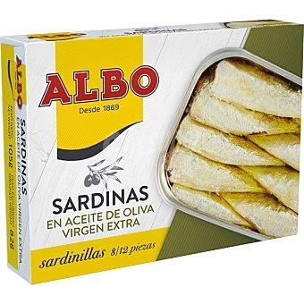 Albo Sardinillas en aceite de oliva virgen extra lata 82 g neto escurrido lata 82 g neto escurrido