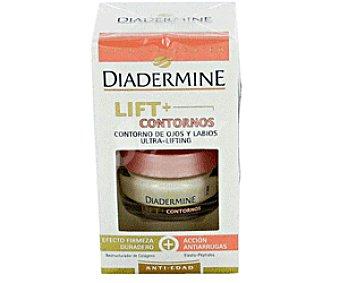 Diadermine Crema Anti-Edad Alisante Contorno Ojos y Labios 15ml
