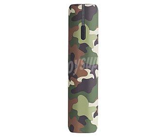 Pny Cargador de batería portátil Color camuflaje, capacidad 2600 mah, voltaje de salida: 5v, 1A. Indicadores led. 1 Unidad