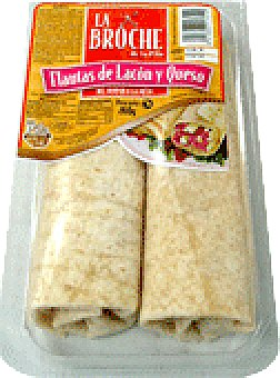 La Broche Flautas lacon y queso 275 GRS
