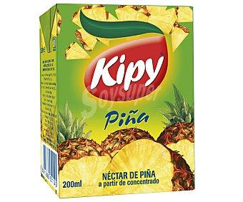 Kipy Néctar de piña kipi x 20 cl Brick 3 uds
