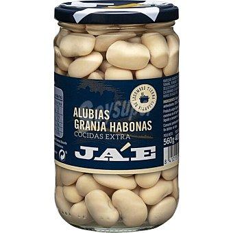 JA'E Alubia blanca cocida extra de granja frasco 400 g neto escurrido Frasco 400 g neto escurrido