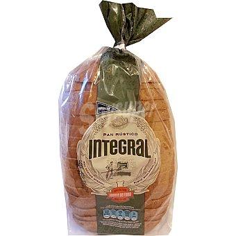 Hipercor pan rústico integral con corteza bolsa 550 g Bolsa 550 g