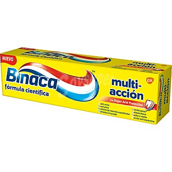 Binaca Pasta dentífrica multi-acción Tubo 75 ml