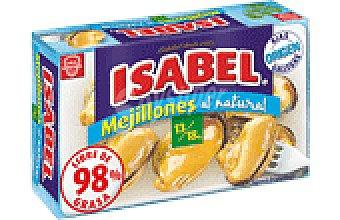Isabel Mejillones al natural Lata de 63 g