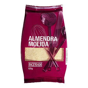 Hacendado Almendra cruda molida Paquete 125 g