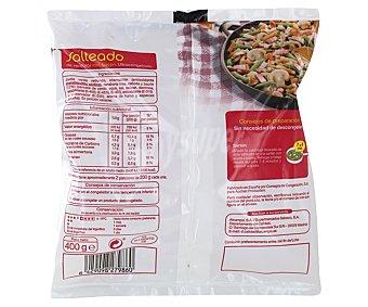 Auchan Salteado de verduras con bacon 400 gramos