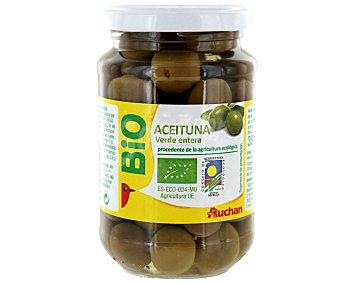 Auchan Aceituna verde entera Biológica (procedente de agricultura ecológica) 200 Gramos