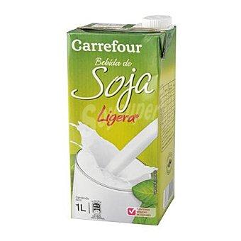 Carrefour Bebida de soja sabor natural 1 l