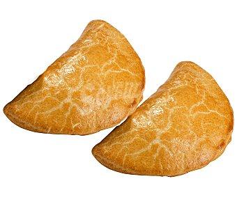 EMPANADA Empanada gallega de atún con masa panadera en forma de media luna 140 gramos 2u 140g