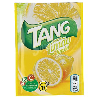 Tang limón con vitaminas A, B2 y C sobre 30 g