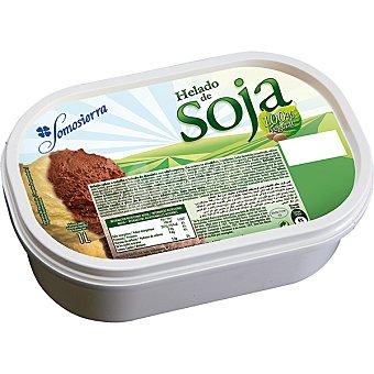 SOMOSIERRA helado de soja con vainilla y chocolate 100% vegetal tarrina 1 l