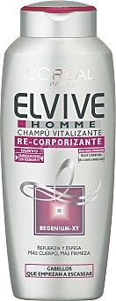Elvive L'Oréal Paris Champú Vitalizante Regenium-XY 300 Mililitros