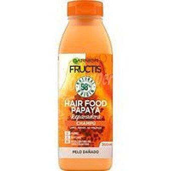 Fructis Garnier Champú pelo dañado Hair food papaya Bote 350 ml